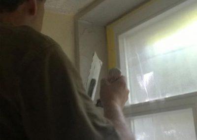 Dämmung Fensteranschluß