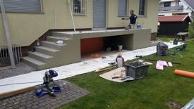 Treppe-Verarbeitung
