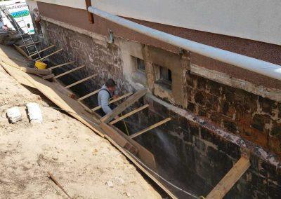 Reinigung Untergrund