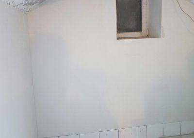 Fertige Wand