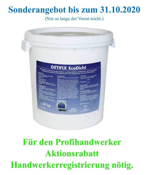 Getifix EcoDicht-Aktion