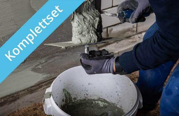 Getifix Außenabdichtung - Zeitgemäß schnell – 25/50/100 m² - Komplettpaket