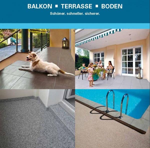 Balkon- und Terrassensanierung - Echt gute Neuigkeiten (Beratung über Getifix Fachbetrieb)