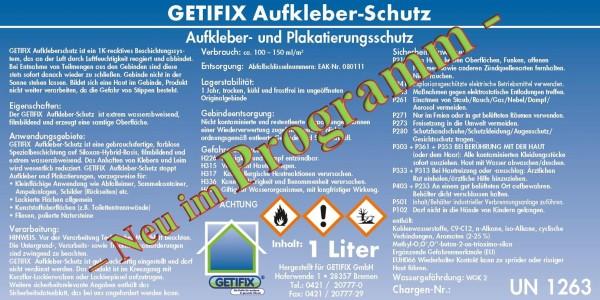 Getifix Aufkleber-Schutz