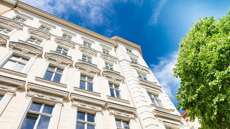 Fassaden sauber halten