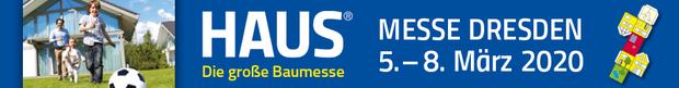 HAUS Baumesse Banner