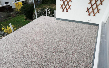 Balkonabdichtung Mainaschaff - Abdichtung Marmorgranulatplatten