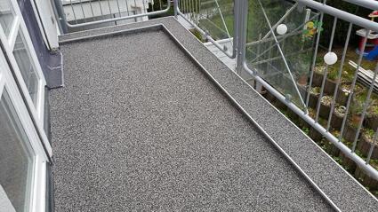 Balkonabdichtung Rodgau - Abdichtung Marmorgranulatplatten