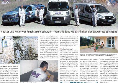 Wochenzeitung Heidenheim Gayer Artikel