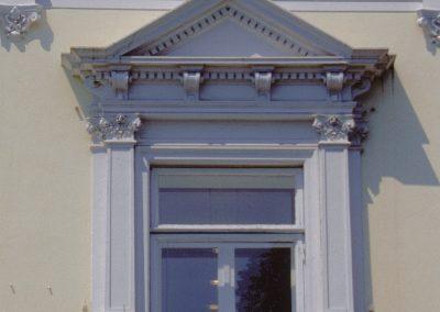Balkon und Fassade