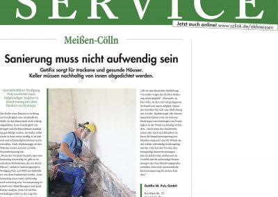 Artikel Sächsische Zeitung Oktober