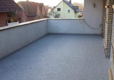 Balkoninstandsetzung mit Getifix - Steinteppichsystem Plana