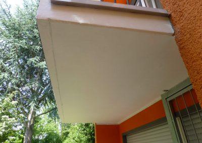 Balkon unten nachher