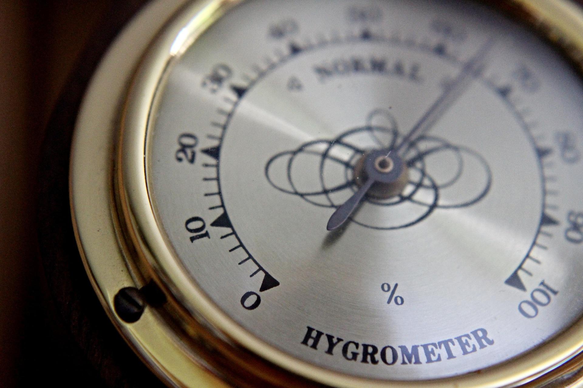 Hygrometer zum Messen der Luftfeuchtigkeit