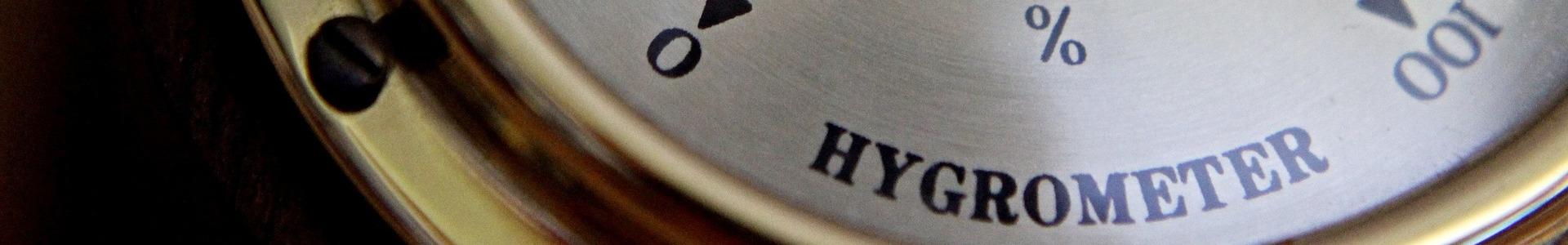 Hygrometer zur Luftfeuchtigkeitsmessung in der Wohnung