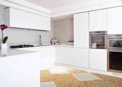 Balkonboden Plana in der Küche