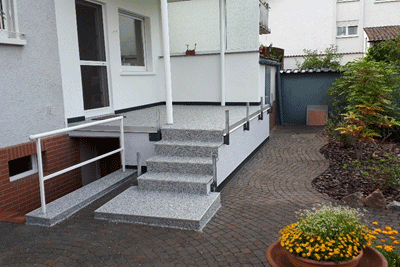 Sarnierter Balkon